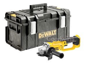 DeWalt DCG412 XR 125mm 18V Angle Grinder - DCG412N Bare Unit in DS300 Kitbox